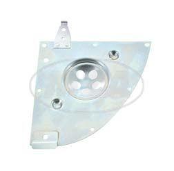 Abdeckplatte für Gehäusemittelteil mit Aufhängung für Leitungsverbinder bei Simson S51, S70