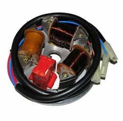 Elektronik Grundplatte 8305.1/1-100, 6V 35/ 21W mit Bilux Scheinwerfer für S51, S70, KR51/2