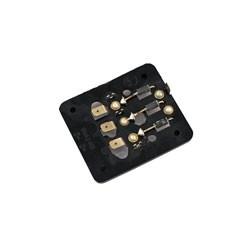 Isolierplatte 8046.2-330 m. Erregerdioden - f. Gleichrichter 8046.2-300 - ETZ