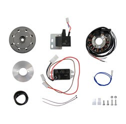 Powerdynamo Zündanlage 12V100W Gleichstrom vollelektronischer für KR51, KR51/1, SR4-2