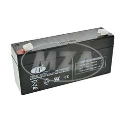 AGM Batterie Vlies wartungsfrei 6V 3,2 Ah für KR51/1, KR51/2