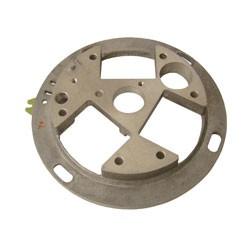Grundplatte f. SLPZ - ohne Spulen - f. Fahrz. mit 6V oder 12V und Primärspule + obenliegenden Unterb