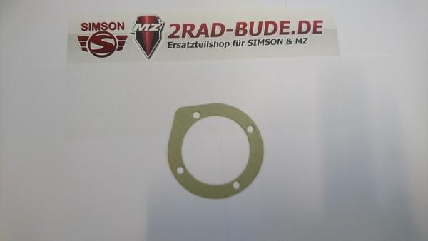 Dichtung für Dichtkappe Kettenrad( Abtrieb ) bei MZ ETZ125,ETZ150