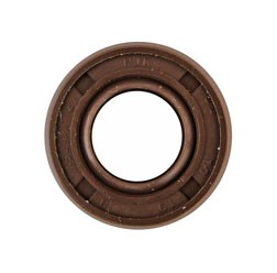 Wellendichtring NJK 10x19x08 - FPM - braun - mit Staublippe, z.B. für Stoßdämpfer, Federbein ES, TS