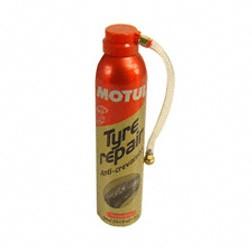 MOTUL Reifenreparatur, Tyre Repair, sprühfähiger Füllschaum auf Latexbasis für Reifenpannen ohne Aus