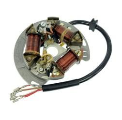 Grundplatte vollst. 8307.3/3-100 - Unterbrecherzündung (f. SLPZ 8307.3/3) - 6V 25/25 W Bilux für Du