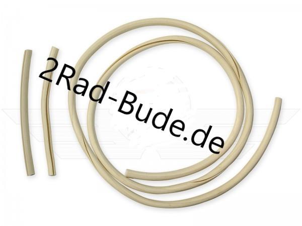 Set Keder elfenbein Gesamtlänge 1,20 m für Simson KR51/1, KR51/2