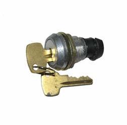Zylindereinbauschloss mit Exzenter, 2 Schlüssel - für DDR-Seitenkoffer