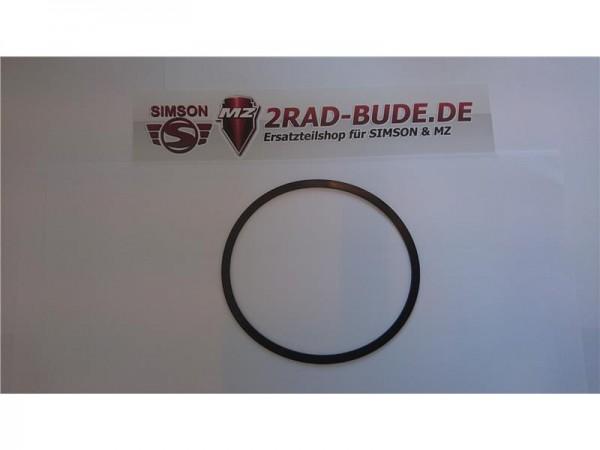Gummidichtring zwischen Scheinwerferring und Glas bei Simson SR1, SR2, SR2E, KR50