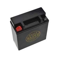 AGM Batterie wartungsfrei 6V 12Ah für Simson S50, S51, S70, SR50, MZ TS250, TS250/1