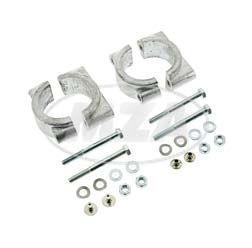 Set Schutzblechhalter für vorders Schutzblech oder Gabelquerjoch für Simson S50, S51, S70, SR50, SR8