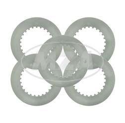 5x Stahllamelle für Kupplung bei MZ ES125, ES150, ETZ125, ETZ150, TS125, TS150, RT125, RT125/1
