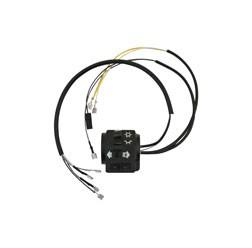 Schalterkombination 8626.19/7 kompl. m. Kabel - 6Volt - mit Lichthupe - Roller SR50, SR80