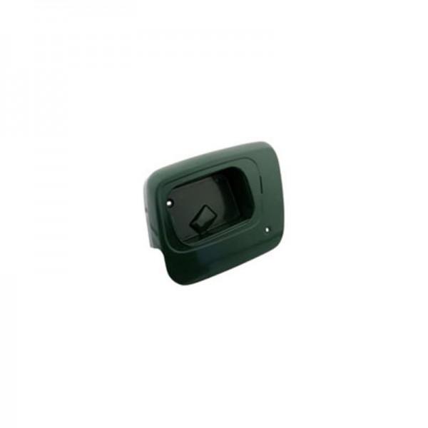 Verkleidung rechts, dunkelgrün lackiert - passend für TS125, TS150