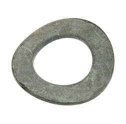 Federscheibe B18-Fst-E4J (DIN 137) - gewellt - vernickelt