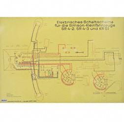Schaltplan, Farbposter für SR4-2, SR4-3, KR51
