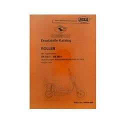 Ersatzteilkatalog Roller SR50-SR80 - Ausgabe 1995