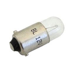 Kugellampe 12V 2W BA9s für Leerlaufkontrolleuchte bei Simson KR51/1, SR4-2, SR4-3, SR4-4, KR51/2