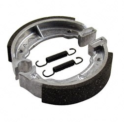 SET Bremsbacken, inkl. Zugfedern für Simson SR2, SR2E, KR50