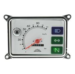 Tachometer für Simson Roller SR50, SR80 ohne Leuchtmittel, Skale weiß , bis 100 km/h