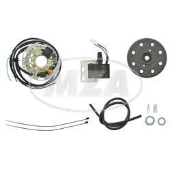 Powerdynamo Vollelektronische Zündung 6V 18W für Mofa SL1