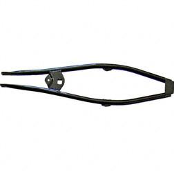 Rahmenobergurt schwarz pulverbeschichtet für Simson S50, S51, S70