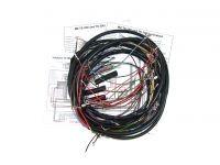 Kabelbaum mit Schaltplan für MZ TS250 mit Steckkontakt