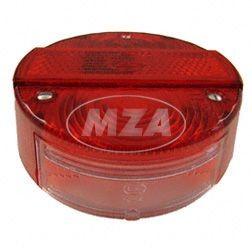 Rücklichtkappe ø 120mm für KR51/2, S51, S70, SR50, SR80, ETZ150, ETZ250 mit E-Prüfzeichen
