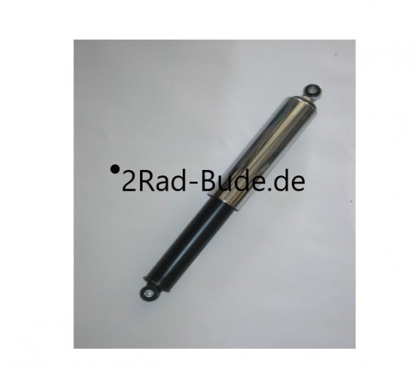 Federbein hinten schwarz u. Chromhülse für Simson DUO 4/1, KR51/1, KR51/2, S50, S51, S53, SR50, SR80