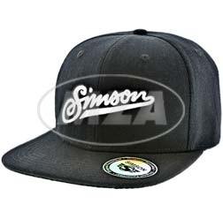 Basecap, schwarz mit SIMSON Schriftzug auf der Rückseite: simsonliebe