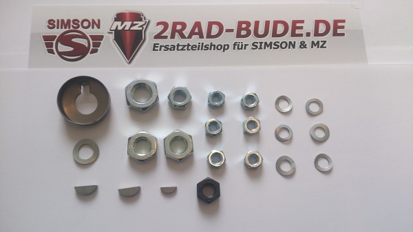 Set Kleinteile für Motorregenerierung (22 Teile) passend für SR1, SR2, SR2E, KR50