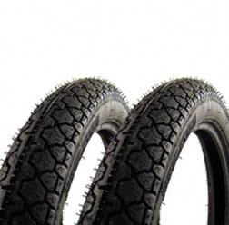 Heidenau Reifen 2 Stück 2 3/4 x 16Zoll K36/1 46J für Simson KR51 S50 S51 S70 SR4-2