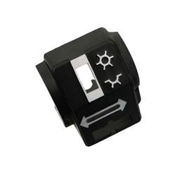 Gehäusehälfte hinten für Schalterkombination bei Simson S51,S70, S53, S83, SR50,SR80, MZ ETZ