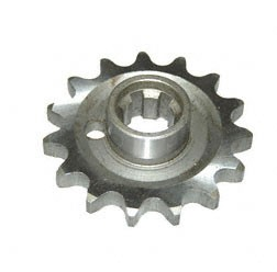 Antriebsritzel ETZ250, 15 Zähne (Gespannausführung)