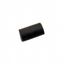 Gummistopfen schwarz - ø 12 mm / L 20 mm