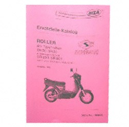 Ersatzteilkatalog Roller SR50-SR80 - Ausgabe 1993
