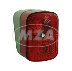 Rücklicht komplett für Simson KR51/1, SR4-1, SR4-2, SR4-3, SR4-4 mit E Prüfzeichen