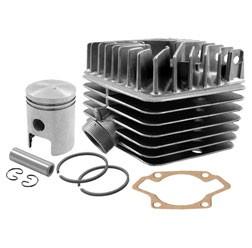 SET Tuningzylinder mit Zylinderkopf S63, Kolben K18, Ø45mm 63ccm für S50