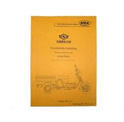 Ersatzteilkatalog Lastendreirad SD50 CT/CTE - Ausgabe 1997/ 2003