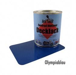 Lackfarbe Leifalit Premium olympiablau 0,5Liter