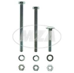 Normteile Set für Motorlager und Motorbefestigung bei Simson S50, S51, S70