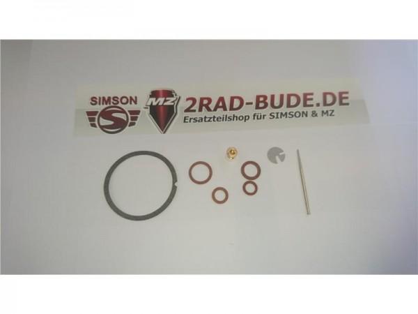 Reparaturset 8 teilig für NKJ Vergaser bei Simson SR1, SR2, SR2E, KR50
