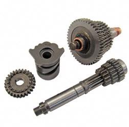 SET 4-Gang Getriebe mit langem vierten Gang für Simson S51, KR51/2, S70, SR50, SR80