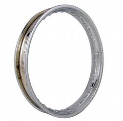 Stahlfelge 2 1/4x19 (2,15x19) - Stahl, verchromt - z.B. für RT125/1, RT125/2