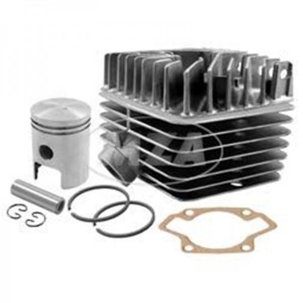 SET Tuningzylinder - kpl. mit Zylinderkopf S50 / S63, Kolben K18, Ø45mm (63ccm) und Zylinderfußdicht
