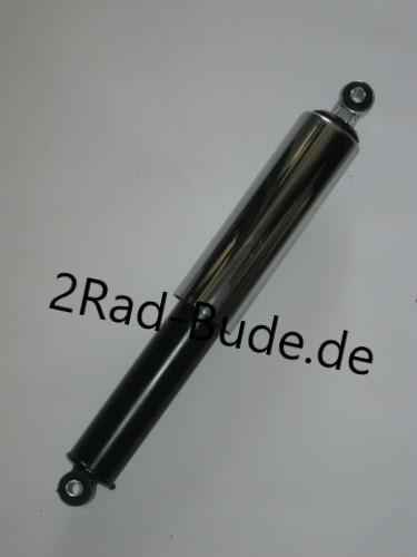 Federbein vorn schwarz & Chromhülse für Simson KR51, SR4-2, SR4-3, SR4-4, DUO