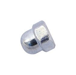 Mutter - Hutmutter M6-06-A4K (DIN 1587) - blau chromatiert