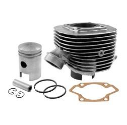 SET 50ccm Zylinder kpl. mit Kolben Ø40mm + Fußdichtung für Simson KR51/1, SR4-2