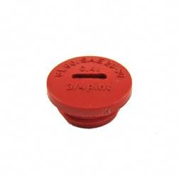 Verschlußschraube rot Plastik zur Öleinfüllöffnung ohne O-Ring für Simson S51, S53, S70, SR50, SR80